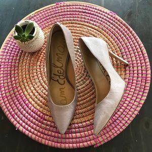 Sam Edelman Shoes - Sam Edelman lavender Hazel pointy toe pump size 8